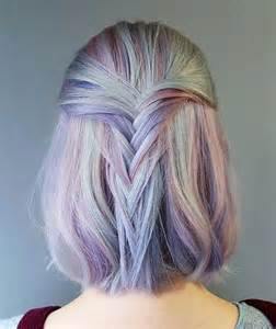 colorful hairstyles 10 unique and desirable pastel hair ideas stylish hair