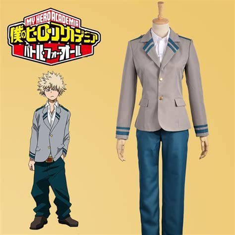Kaos Anime Boku No Academia Izuku Midoriya Shirt Kc Bha 03 boku no academia bakugo katsuki midoriya izuku costume custom ebay
