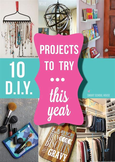 diy projects to try 10 diy projects to try this year