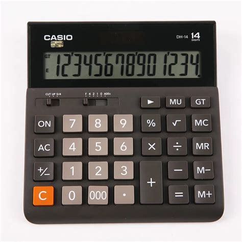 Casio Calculator Dh 14 casio dh 14 large aircraft calculator office business 14