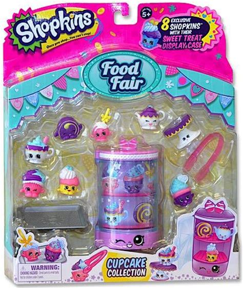 Shopkins Food Fair Fast Food Collection 1 shopkins season 4 figure food fair cupcake collection