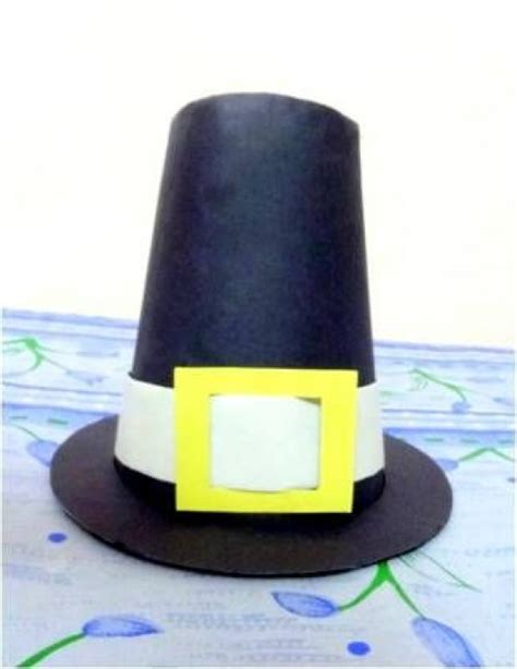 How To Make A Pilgrim Hat Out Of Paper - 20 diy thanksgiving craft ideas fall season crafts for