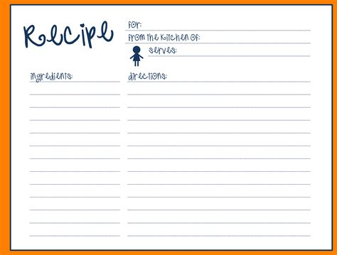 Recipe Card Template by 15 Recipe Card Templates For Word Unmiser Able