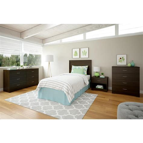 espresso headboard ameriwood crescent point twin size espresso headboard 5974303com the home depot