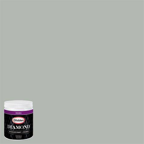 glidden 8 oz hdgcn11 dusty miller eggshell interior paint with primer tester hdgcn11d