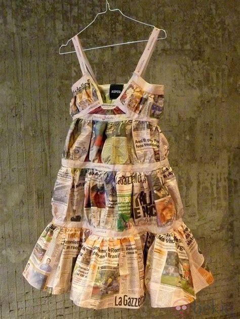 Dress Glow Violin vestido de papel de aspesi trajes de papel paper clothes newspaper and