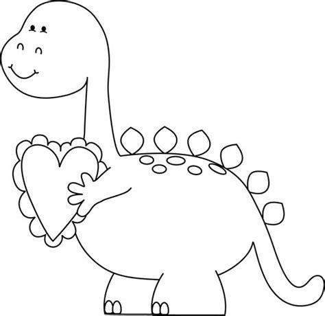 dinosaur valentine coloring page best ideas about clip art valentine s white valentine s