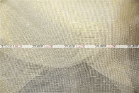 Linen Fabric By The Yard For Upholstery by Metallic Sheer Linen Fabric By The Yard Gold