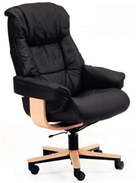 scandinavian leather office chairs fjords 855 loen soho ergonomic leather office chair