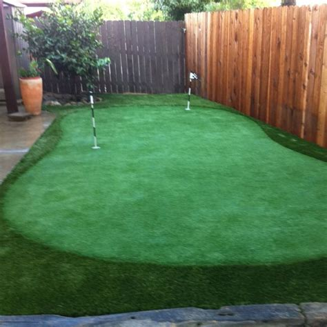 green backyard putting green backyard eco this pinterest