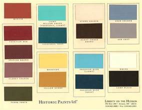 colors for painting historic paints ltd