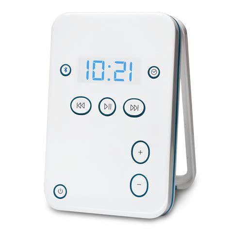 Bluetooth Shower Speaker by The Bluetooth Shower Speaker Hammacher Schlemmer