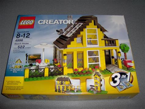 4996 Beach House Review Special Lego Themes Eurobricks Lego House 4996