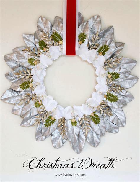 livelovediy how to make a christmas wreath