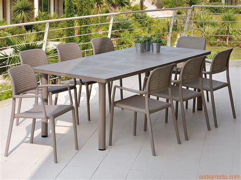salon de jardin en aluminium avec rallonge qaland