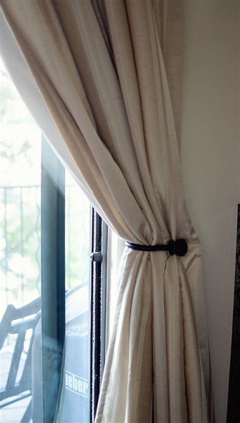 curtain holdback installation how high to install curtain tie backs myminimalist co
