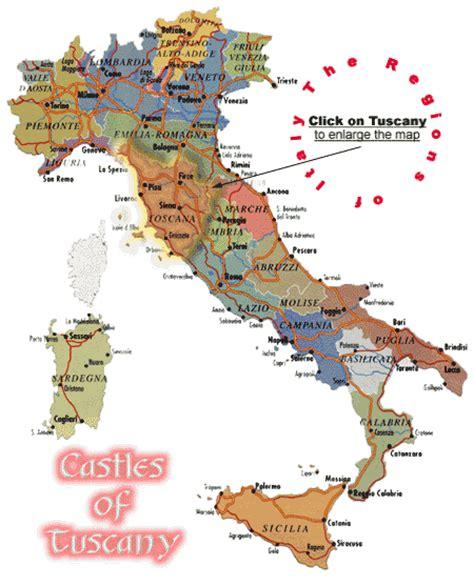 tuscany italy map italy map tuscany