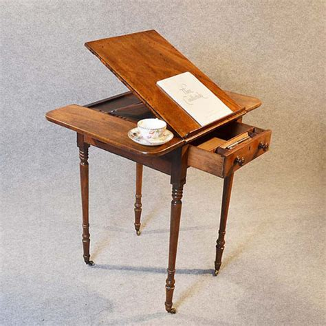 Readers End Table by Reading Table Worktable Side Writing L Lectern