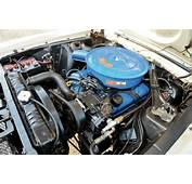 1967 Ford Mustang Convertible Engine Bay