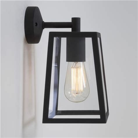 black exterior wall lights calvi outdoor wall light 7105 the lighting superstore