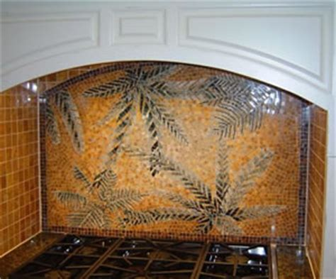 decorative tile backsplash over stove custom made lion tile backsplash installation contractor in union county nj
