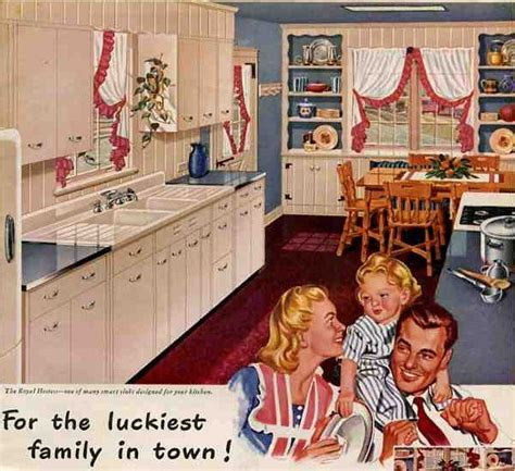a 1940 s retro theme for your kitchen 1000 ideas about 1940s kitchen on 1930s