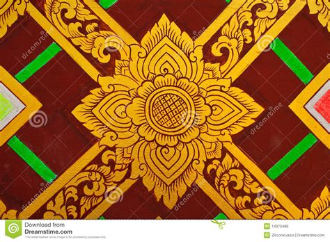 thai design thai design painting stock photo image 14375480