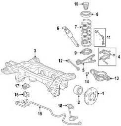2005 Honda Pilot Parts Diagram Parts 174 Honda Pilot Suspension Components Oem Parts