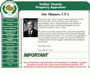Collier County Florida Property Records Collierappraiser Collier County Property Appraiser