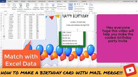 wedding invitation using mail merge birthday invitation using mail merge gallery