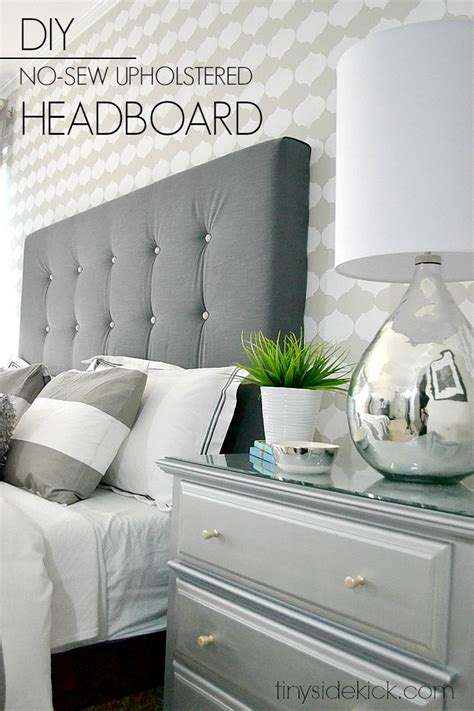 easy diy headboard diy upholstered headboard with a high end look