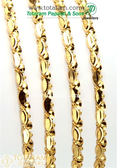 Gelang Rantai 75 3 050 Gram 22k gold bangles set of 4 2 pairs 235 gbl684 in 47 050 grams