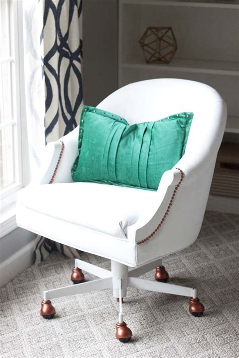 Pleather Chair by Painted Pleather Chair Southern Revivals