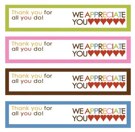 printable tags thank you 8 best images of teacher thank you printable labels