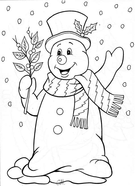 snowman coloring snowman coloring page fensterbilder