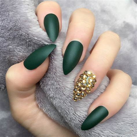 matte pointed nails 21 upgraded pointed nail designs naildesignsjournal