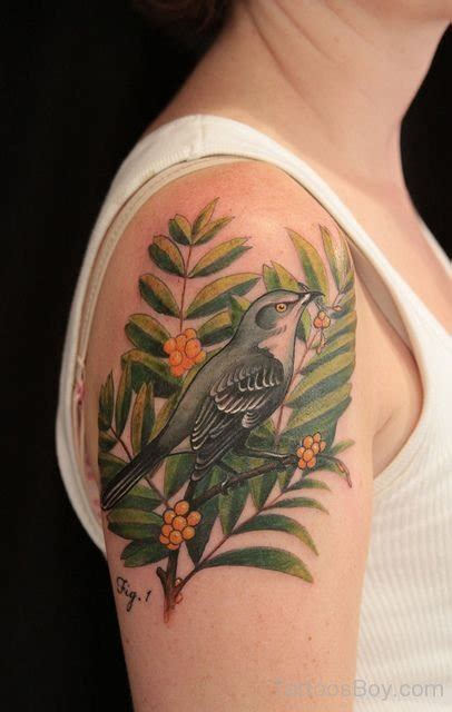 typography shoulder bird tattoos designs pictures page 167