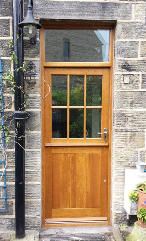 Solid Oak Exterior Doors Solid Wood Doors Made To Measure Near Ilkley Yorkshirefine Wood Designs Ltd