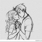 Kissing Couple Sketch   844 x 816 jpeg 215kB