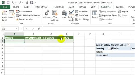 data entry userform in excel workbook using vba explained display excel table in userform vba data entry userform