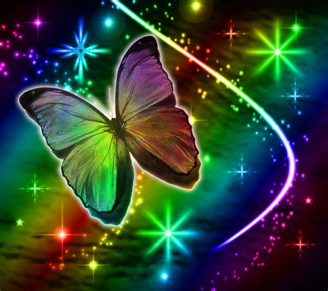 wallpapers of glitter butterflies rainbow butterfly clipart neon rainbow pencil and in
