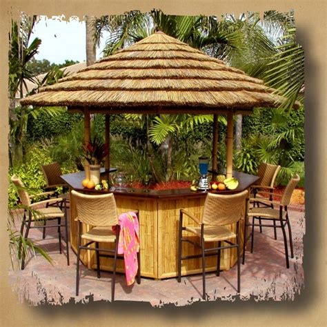 backyard tiki bar sets 50 best images about tiki bars and bar sheds on pinterest