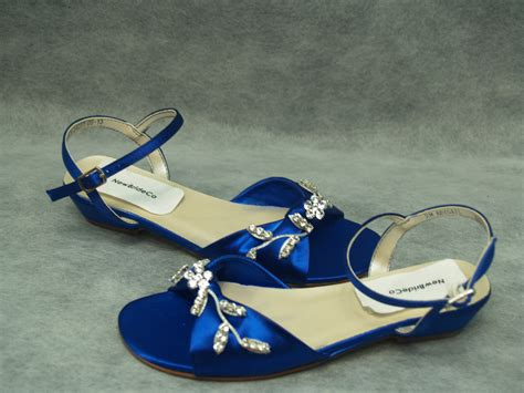 royal blue flower shoes royal blue shoes for flower adorned with by newbrideco