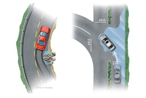 Traktionskontrolle Auto by Automotive Infographics And Diagrams