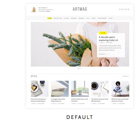 newspaper theme wordpress nulled theme nulled get artmag clean wordpress blog