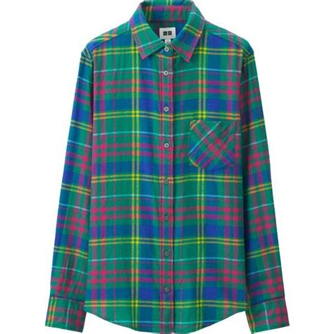 Original Flannel By Uniqlo 7 uniqlo flannel sleeve shirt 330 mxn liked on