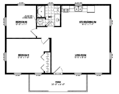 cabin style floor plans
