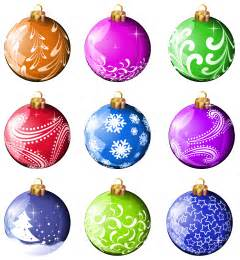 Christmas balls clipart cliparts co
