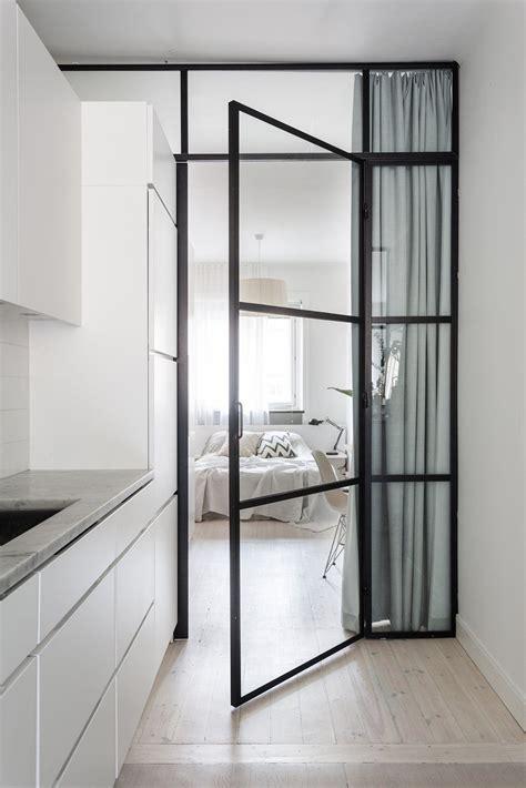 Black Framed Glass Door Garvargatan 20 2nd Floor By Glass Door Salon