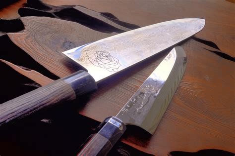 Custom Japanese Kitchen Knives Custom Japanese Kitchen Knives Japanese Chef Kitchen